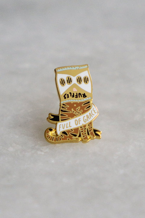 Stay Home Club - Full Of Grace Lapel Pin