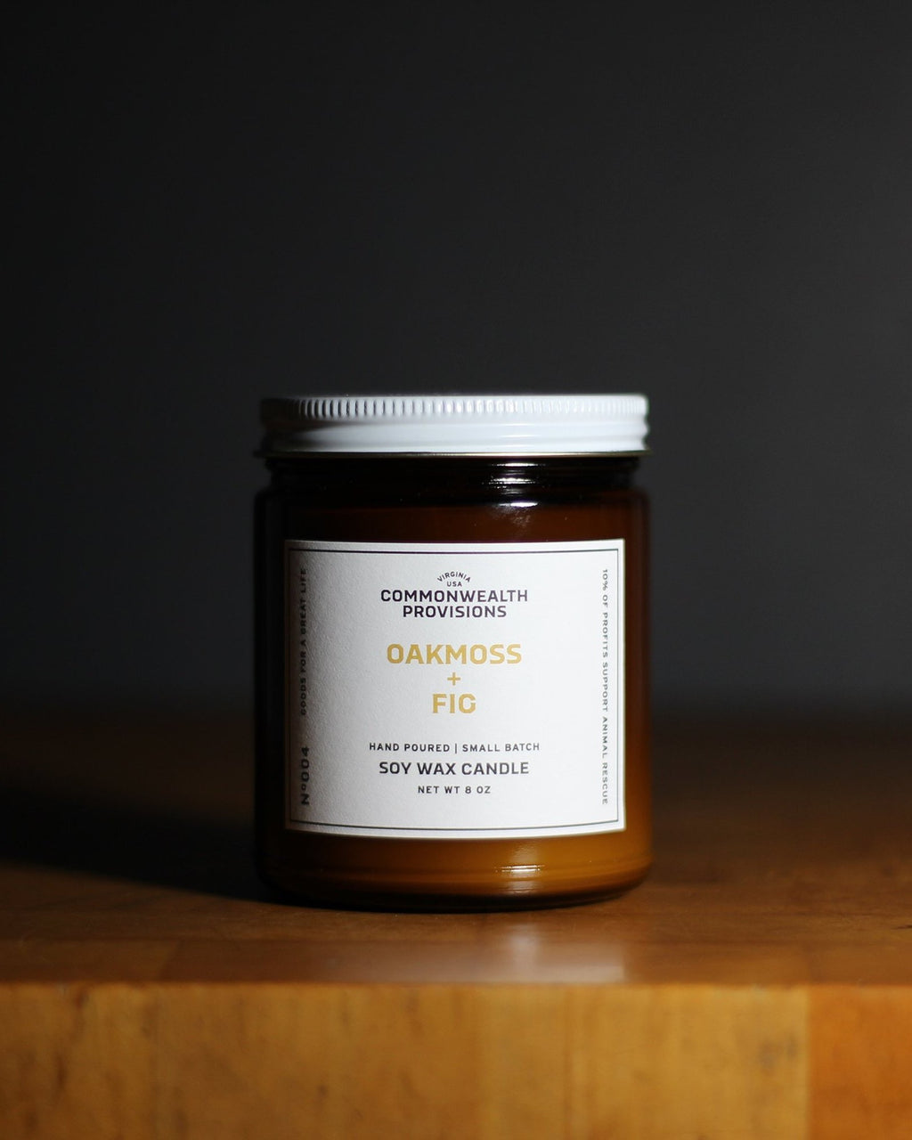 Commonwealth Provisions - Oakmoss Fig Candle