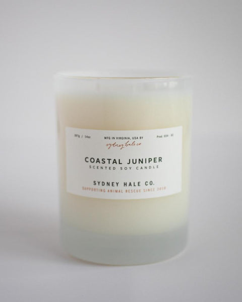 Sydney Hale Co - Coastal Juniper Candle