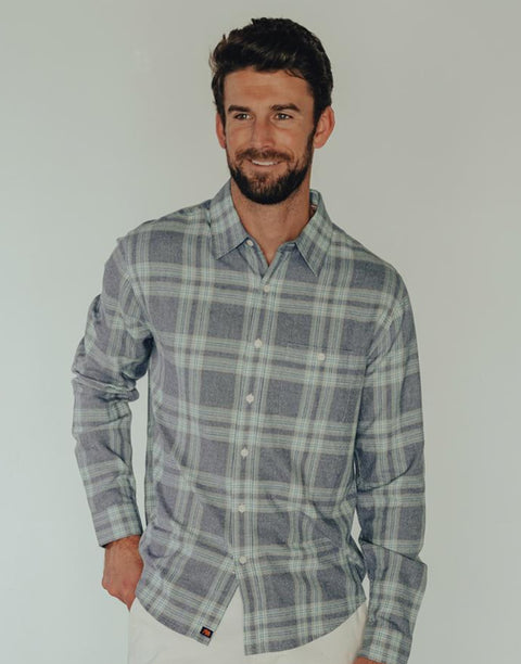 Normal Brand - Jasper Button Down (2 Colors Available)