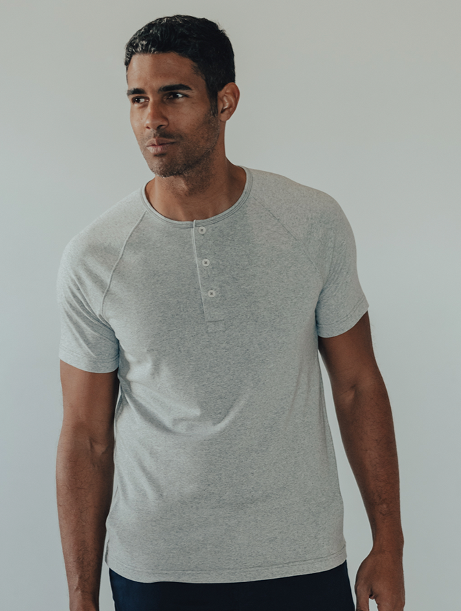Normal Brand - SS Active Puremeso Henley