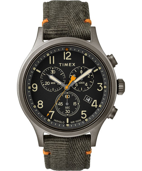 Timex - Allied Chronograph 42mm Fabric Strap Watch