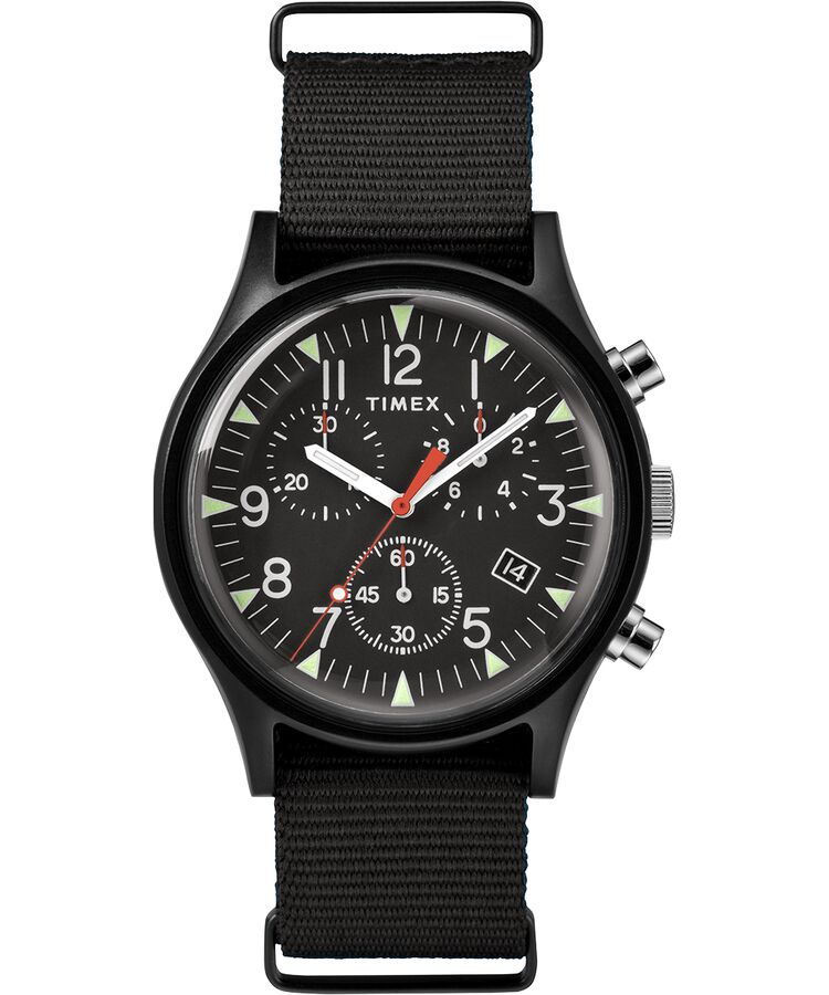 Timex - MK1 Aluminum Chronograph 40mm Fabric Watch