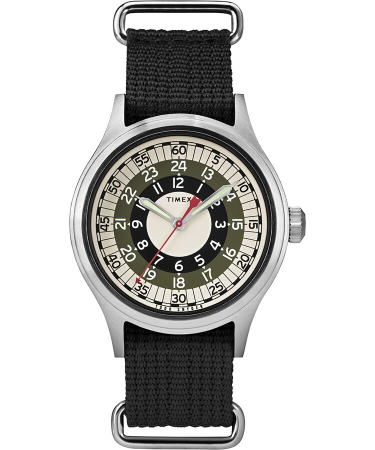 Timex - Todd Snyder MOD Inspired 40mm Fabric Strap Watch