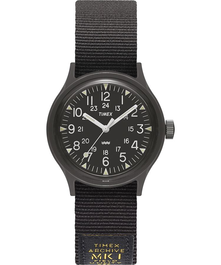 Timex - MK1 36mm Military inspired Grosgrain Strap Watch