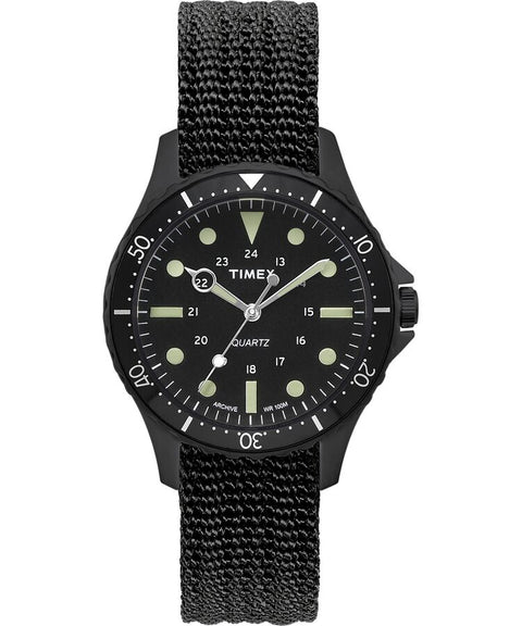 Timex - Navi Harbor 38mm Fabric Strap Watch