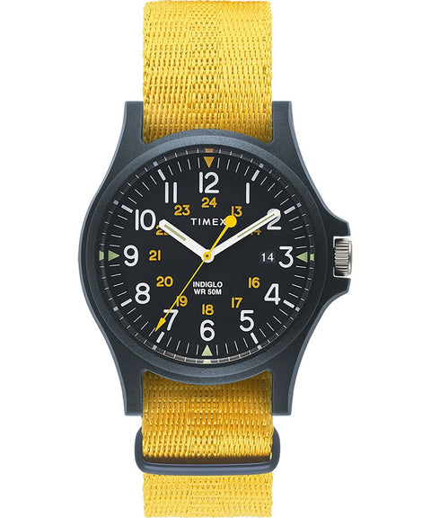 Timex - Acadia 40mm Fabric Strap Watch