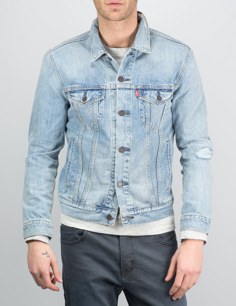 Levis - Distressed Trucker Jacket
