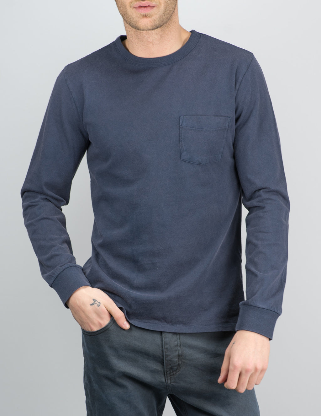 Brixton - Chaplin L/S Pocket Knit
