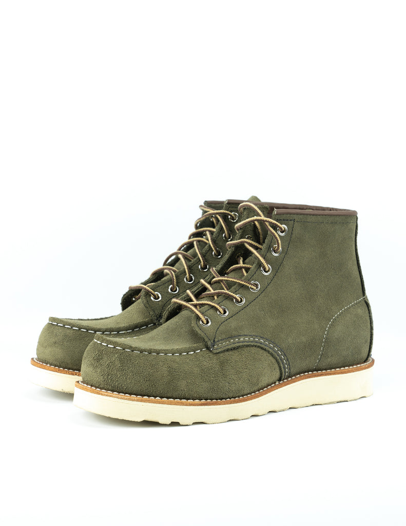"Red Wing - 6 "" Moc Toe"