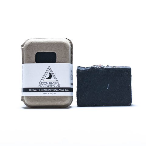 Moon Rivers Naturals - Activated Charcoal + Himalayan Pink Sea Salt