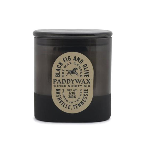 Paddywax - Black Fig + Olive Vista 12 oz. Candle