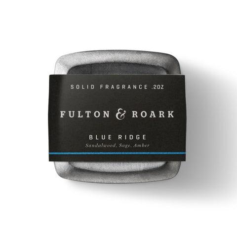 Fulton & Roark - Blue Ridge Solid Cologne