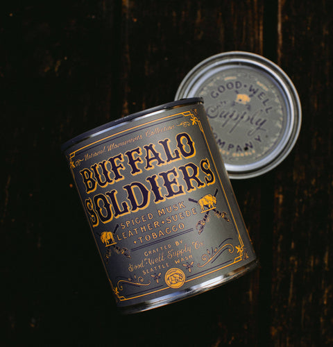 Good & Well Supply Co - Buffalo Soldiers Candle