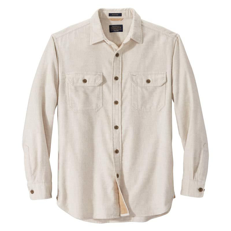 Pendleton - Double Brushed Burnside Flannel Natural