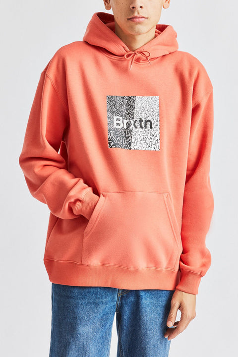 Brixton - Crowd Hooded Fleece