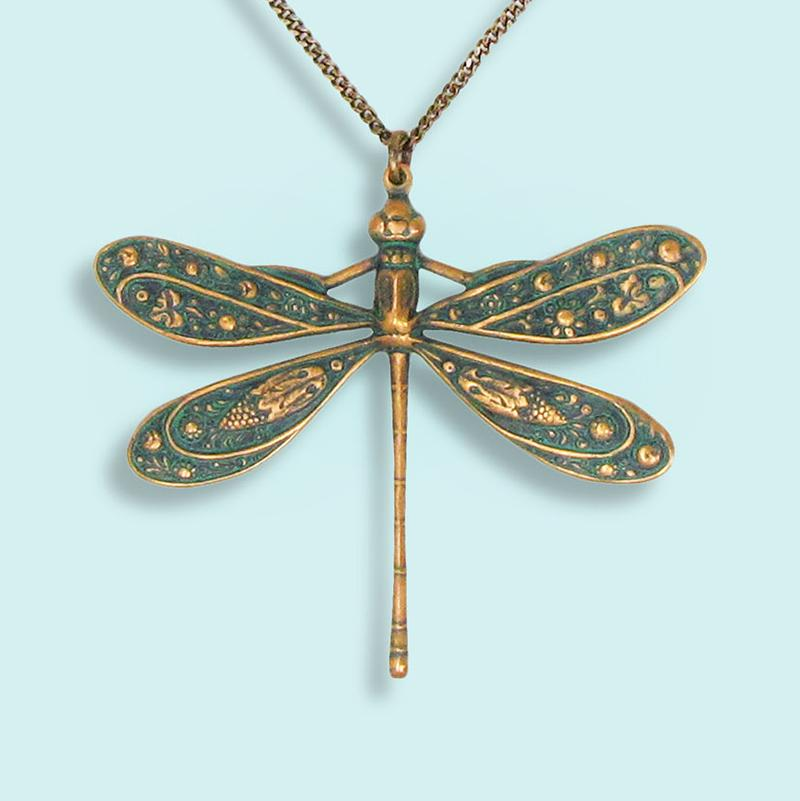 Ornamental Things - Dragonfly Necklace