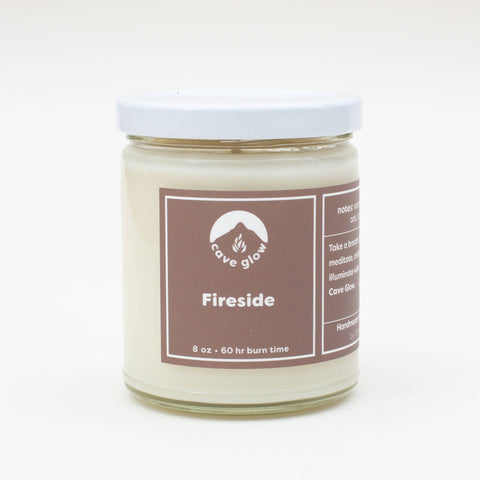 Cave Glow Studio - Fireside Candle 8oz