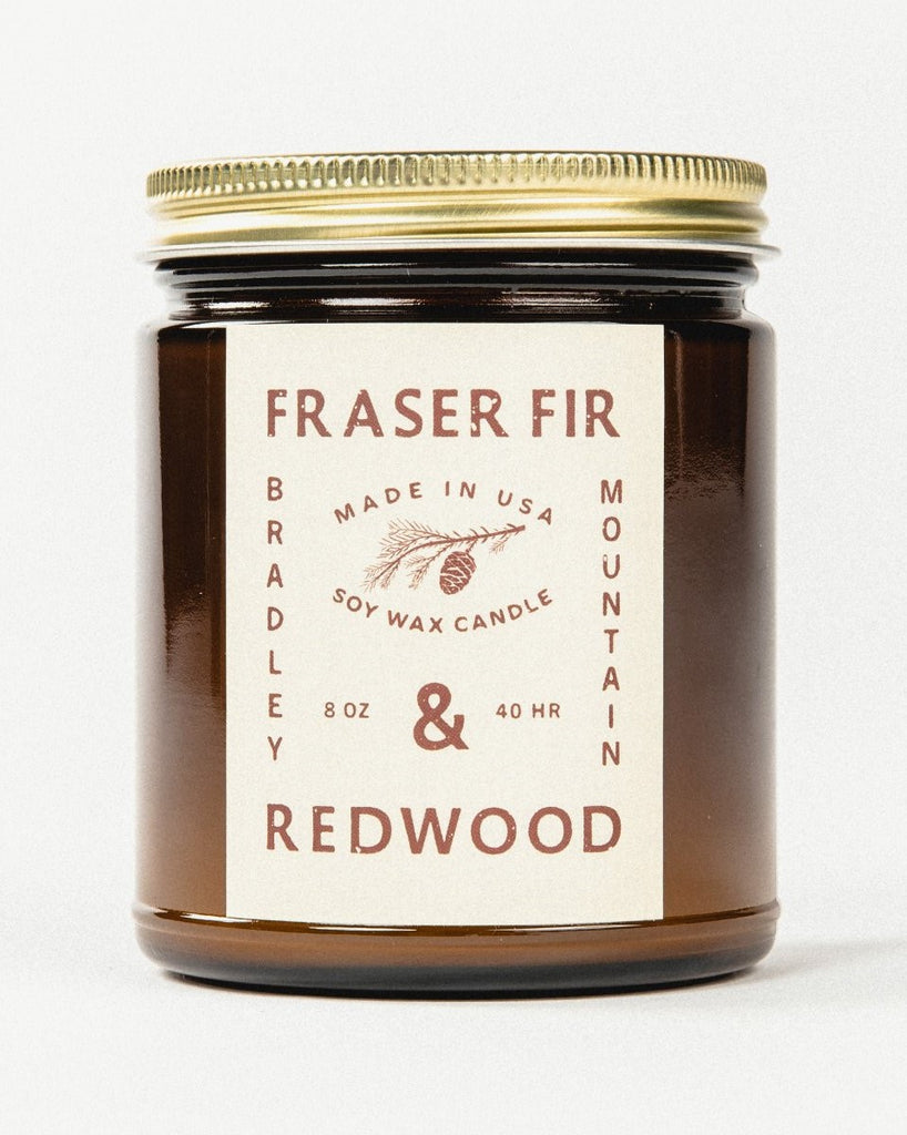 Bradley Mountain - Fraser Fir + Redwood Candle