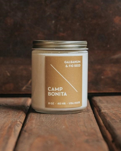 Bradley Mountain - Galbanum + Fig Seed Camp Bonita Candle