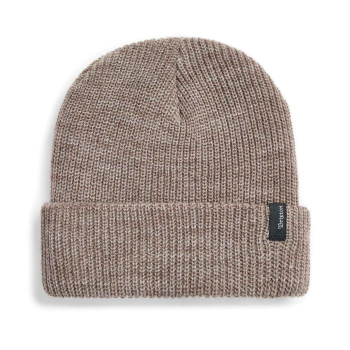 Brixton - Heist Beanie Heather Bison