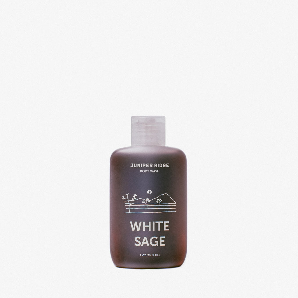 Juniper Ridge - White Sage Body Wash 2oz
