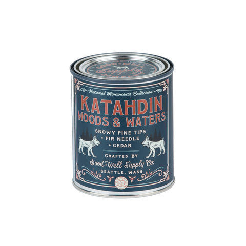 Good & Well Supply Co - Katahdin Woods & Waters Candle