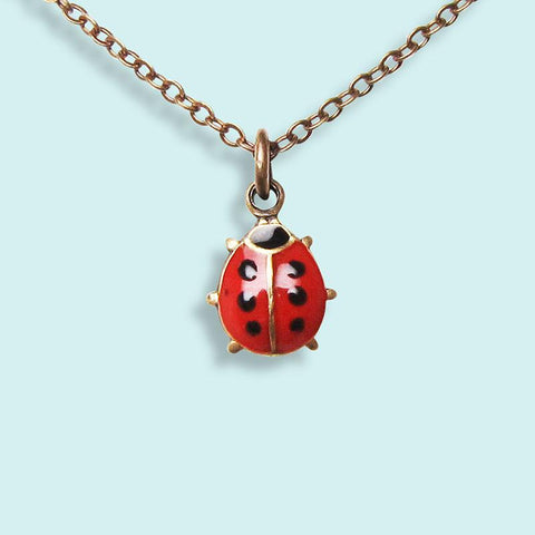 Ornamental Things - Ladybug Necklace