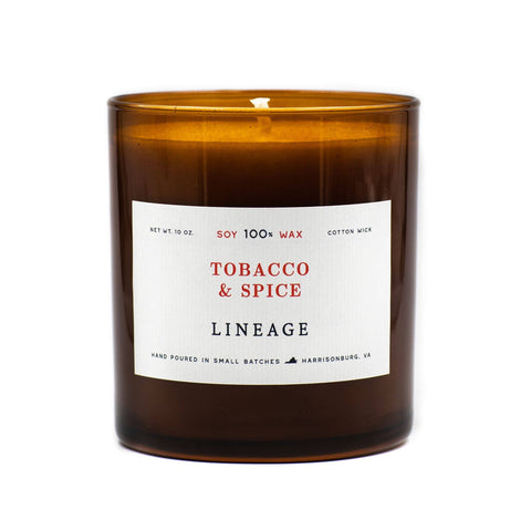 Lineage - Tobacco & Spice Candle