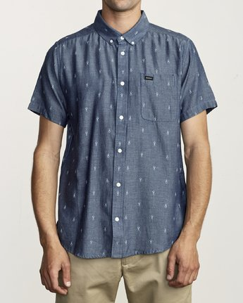 RVCA - That'll Do Dobby SS Shirt