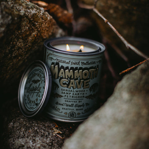 Good & Well Supply Co - Mammoth Cave Candle