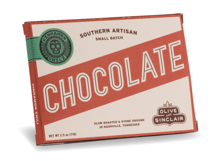 Olive & Sinclair - Mexican Style Cinnamon Chili Chocolate Bar