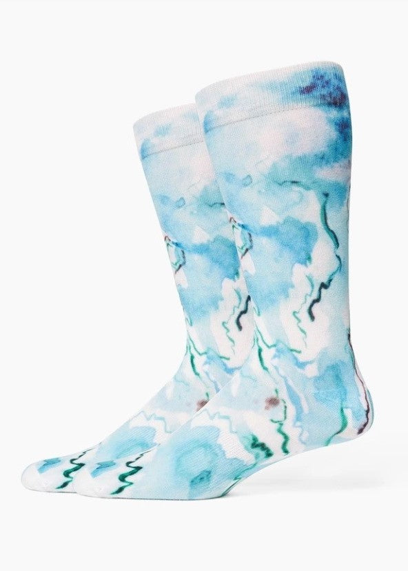 Richer Poorer - Watercolor Crew Socks