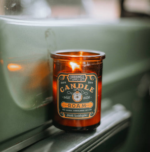 Good & Well Supply Co - Roam Apothecary Candle