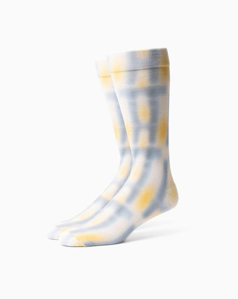 Richer Poorer - Windowpane Sock