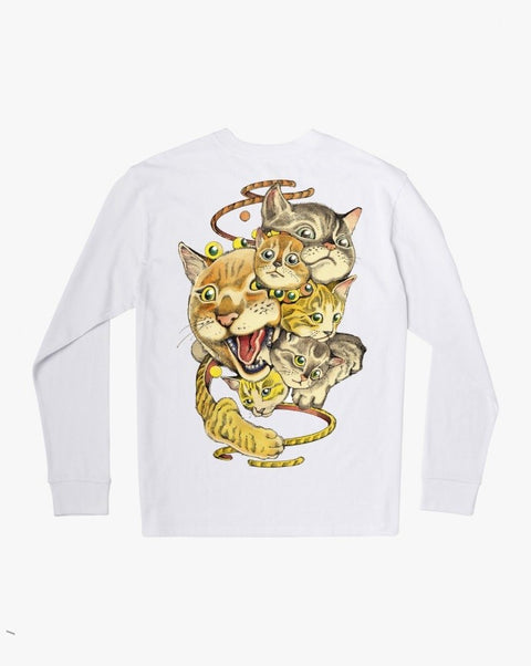RVCA - Shintaro Cats L/S Shirt