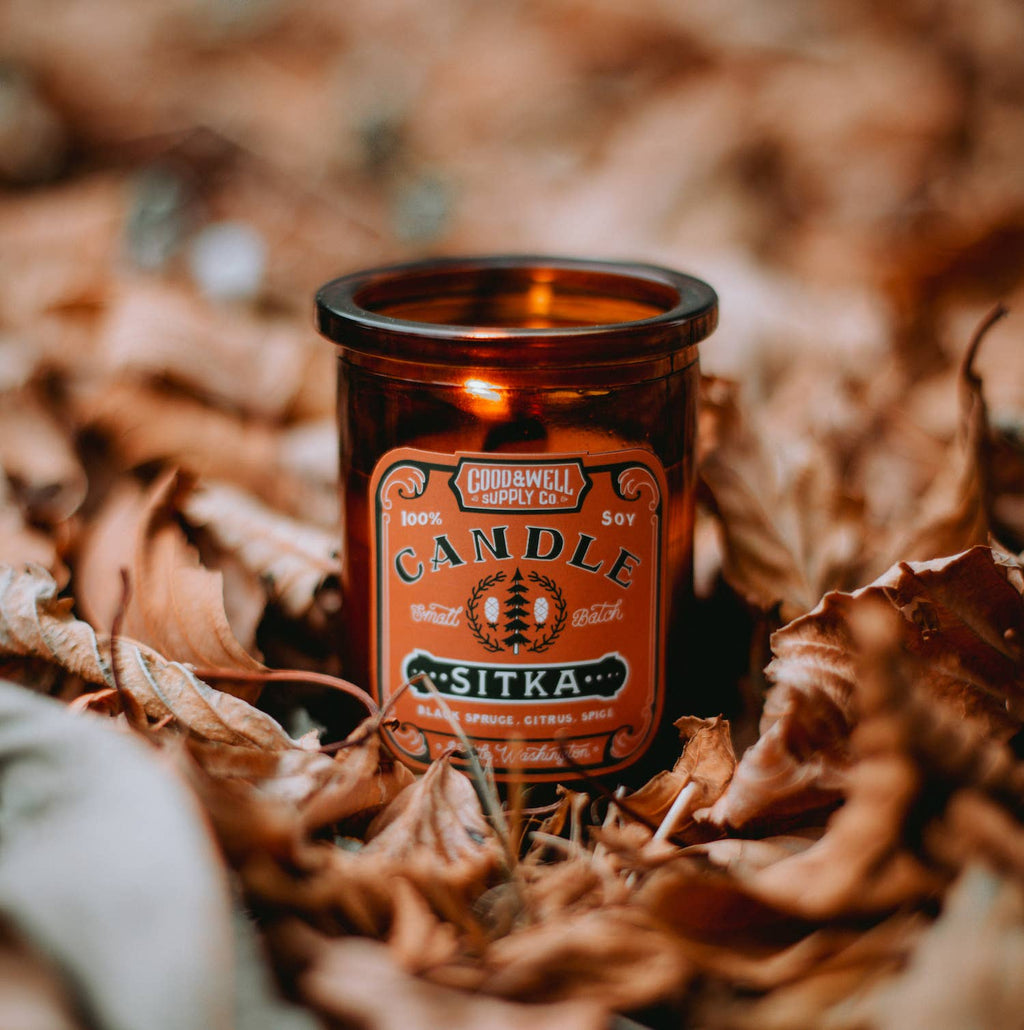 Good & Well Supply Co - Sitka Apothecary Candle