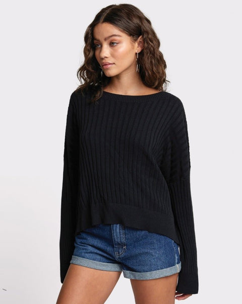 RVCA - Sydney Sweater BLACK