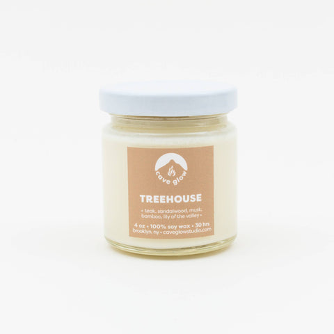 Cave Glow Studio - Treehouse Candle 4oz