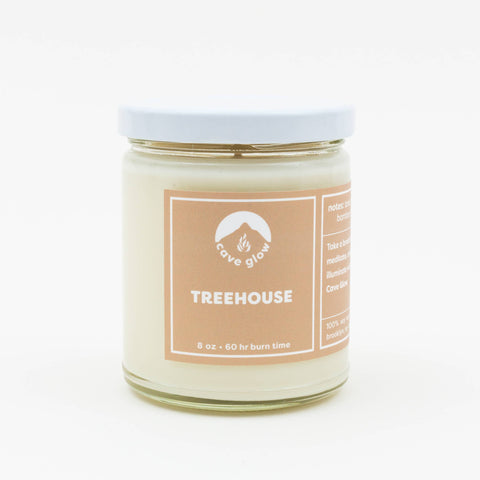 Cave Glow Studio - Treehouse Candle 8oz