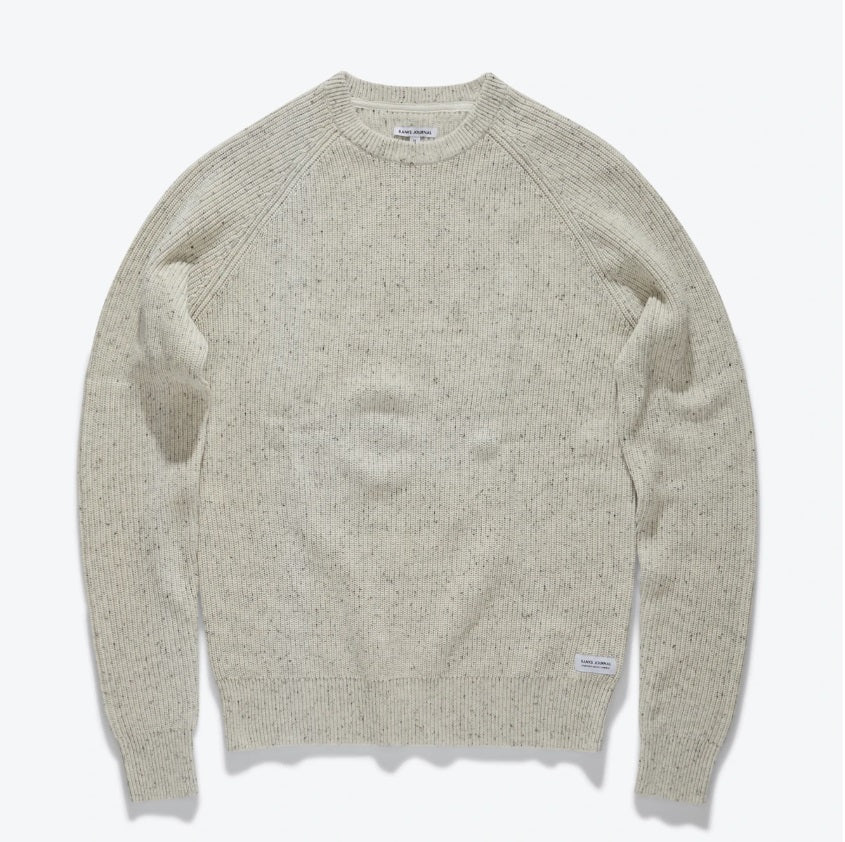 Banks Journal - White Noise Knit Sweater