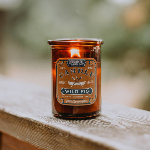 Good & Well Supply Co - Wild Fig Apothecary Candle