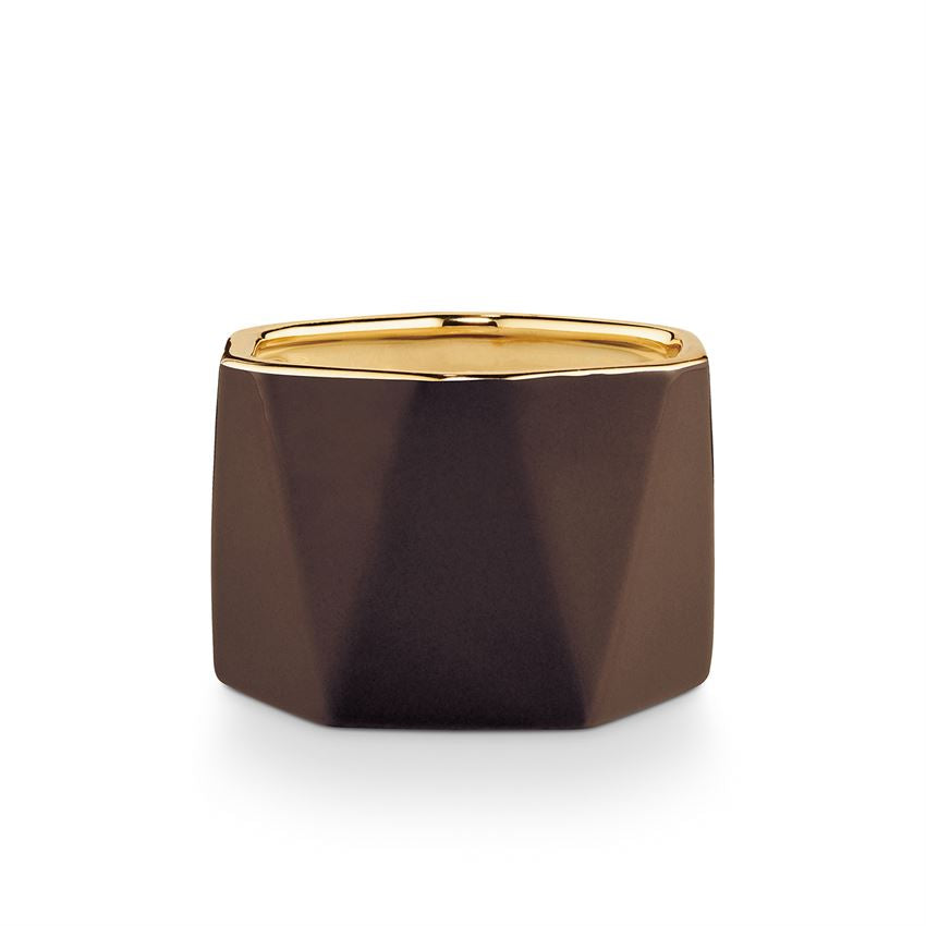 Illume - Woodfire Electroplated Dylan Candle