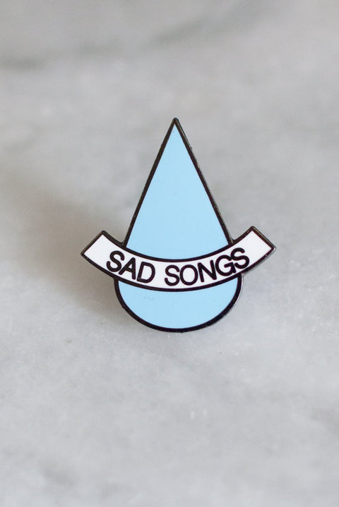 Stay Home Club - Sad Songs Pin