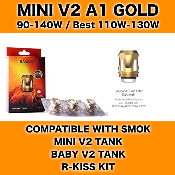 Smok Mini V2 A1 Gold Coils