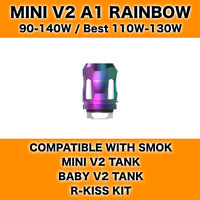 Smok Mini V2 A1 Rainbow Coils 7-Colour