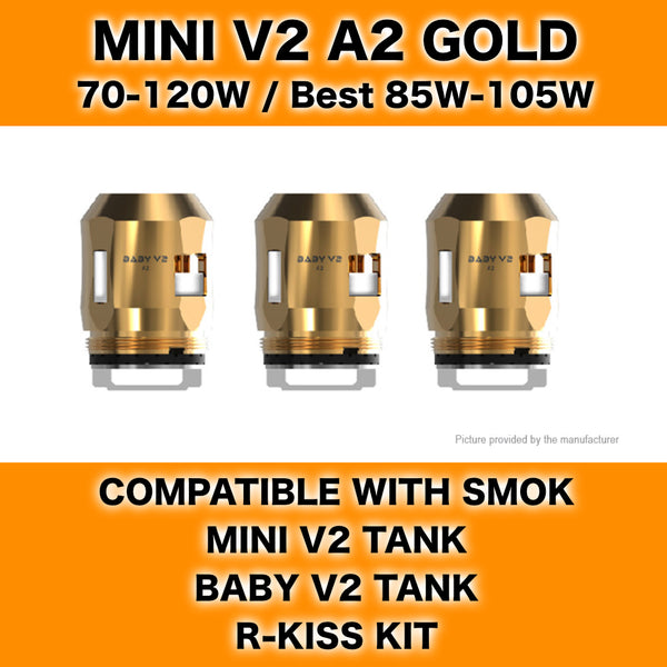 Smok Mini V2 A2 Gold Coils