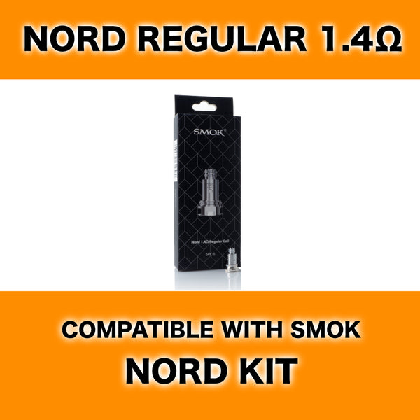 Smok Nord 1.4Ω Regular Coils (5 pk)