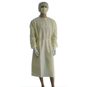Isolation Gown - Yellow (10ct pkg.)