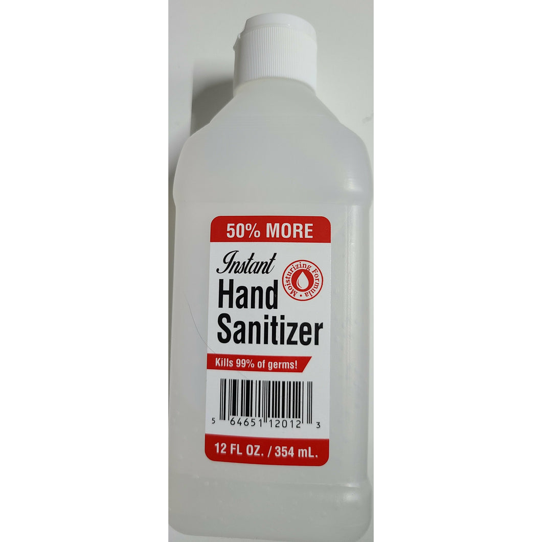 Instant Hand Sanitizer Gel  12. Oz